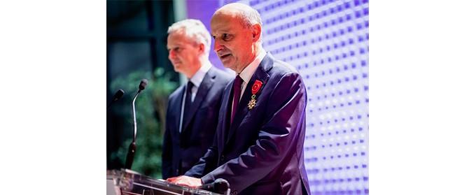 Remise des insignes d'Officier de la Légion d'honneur : discours d'Arnaud Gobet